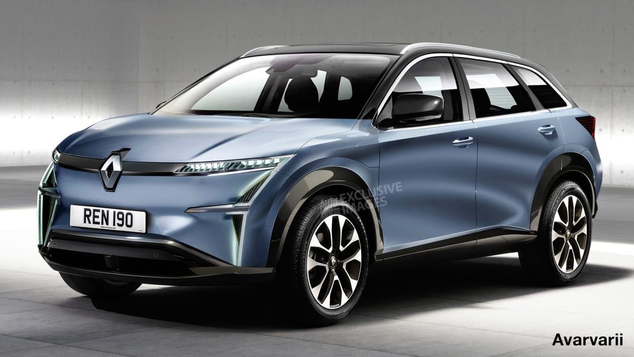 Renault elektryczny SUV