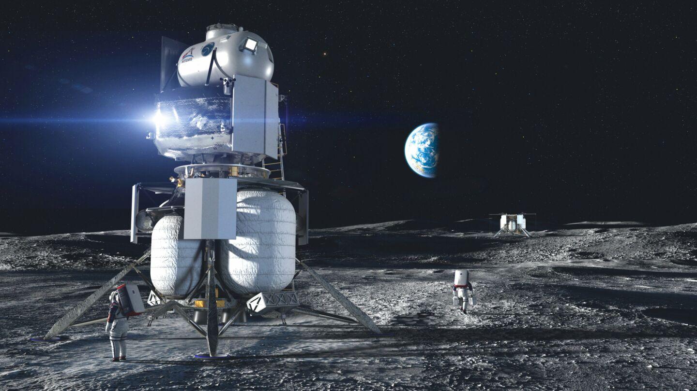 Blue Origin lądownik księżycowy