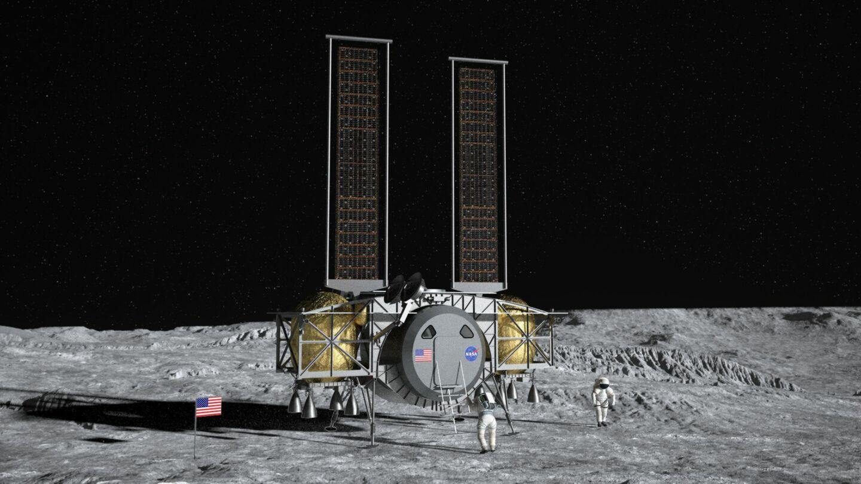 Dynetics lądownik księżycowy