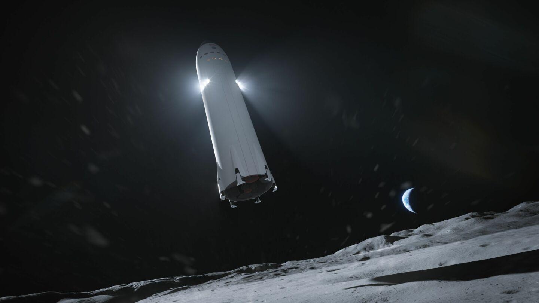 Starship w wersji księżycowej