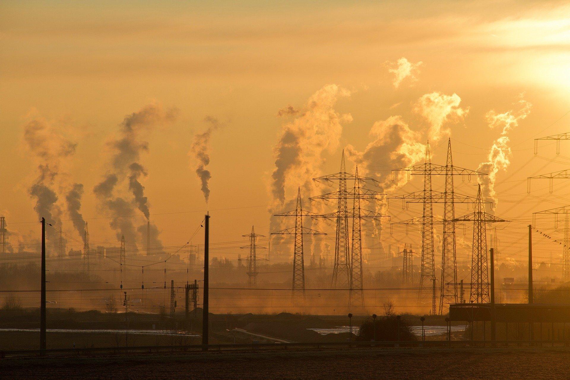 Zmiany klimatu przez przemysł