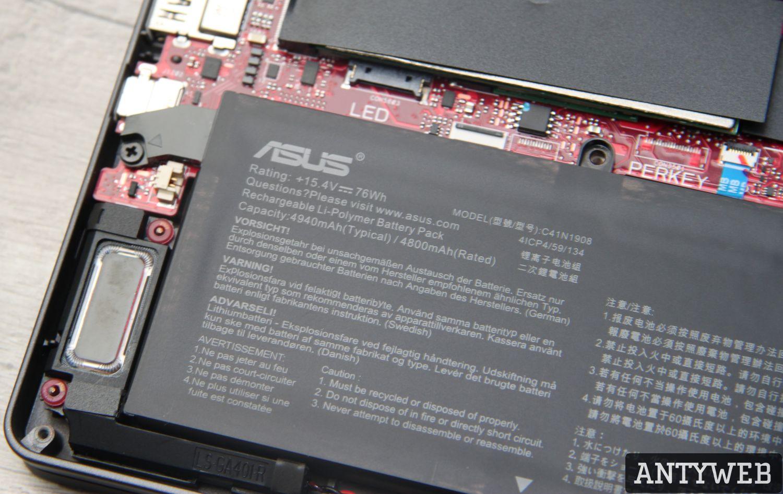 ASUS ROG Zephyrus G14 bateria