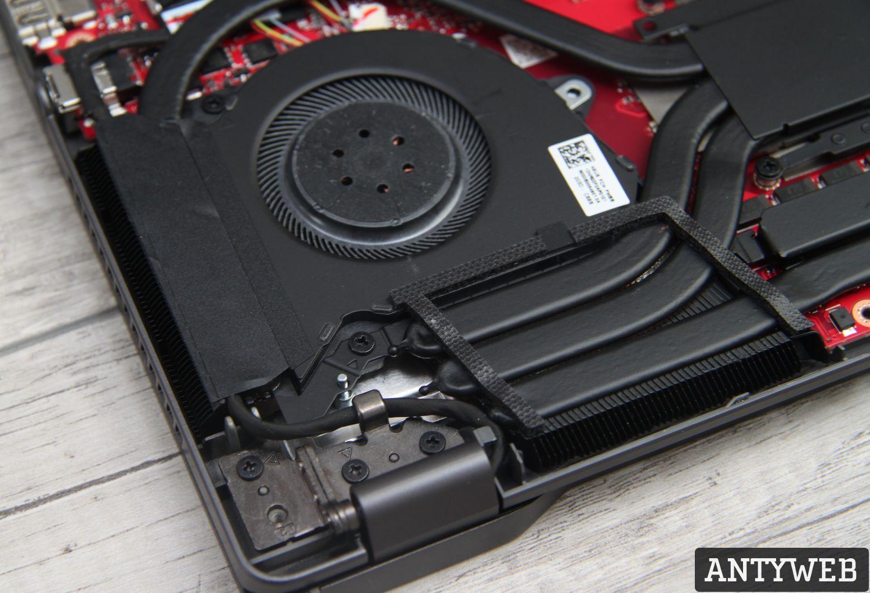 ASUS ROG Zephyrus G14 system chłodzenia