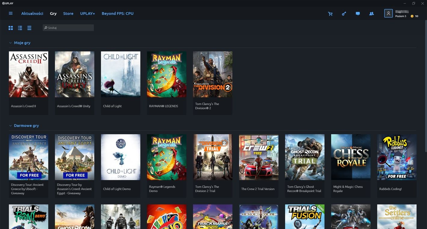 Uplay - gry