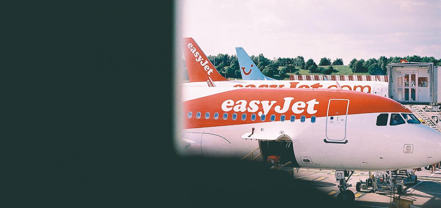 easyjet samolot