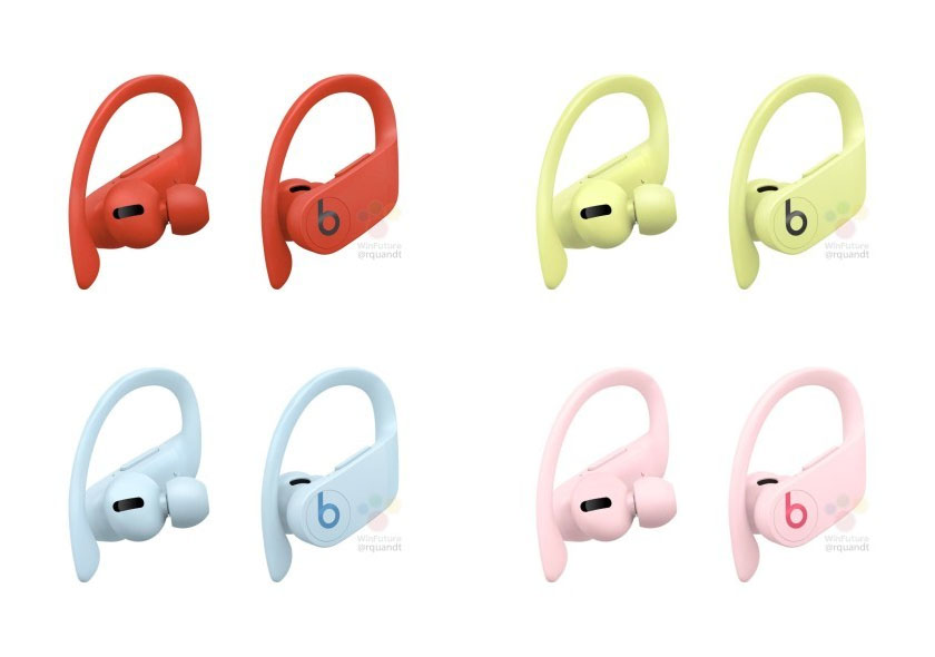 powerbeats pro nowe kolory