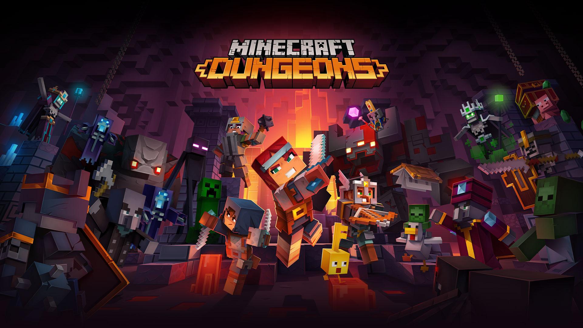 Minecraft Dungeons - recenzja. Udany, klockowy klon Diablo