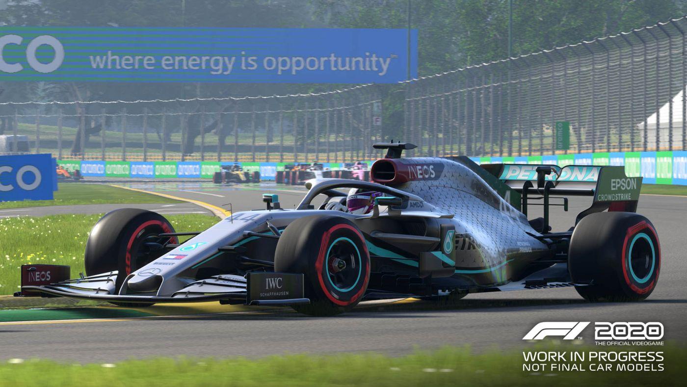zrzut ekranu z gry F1 2020