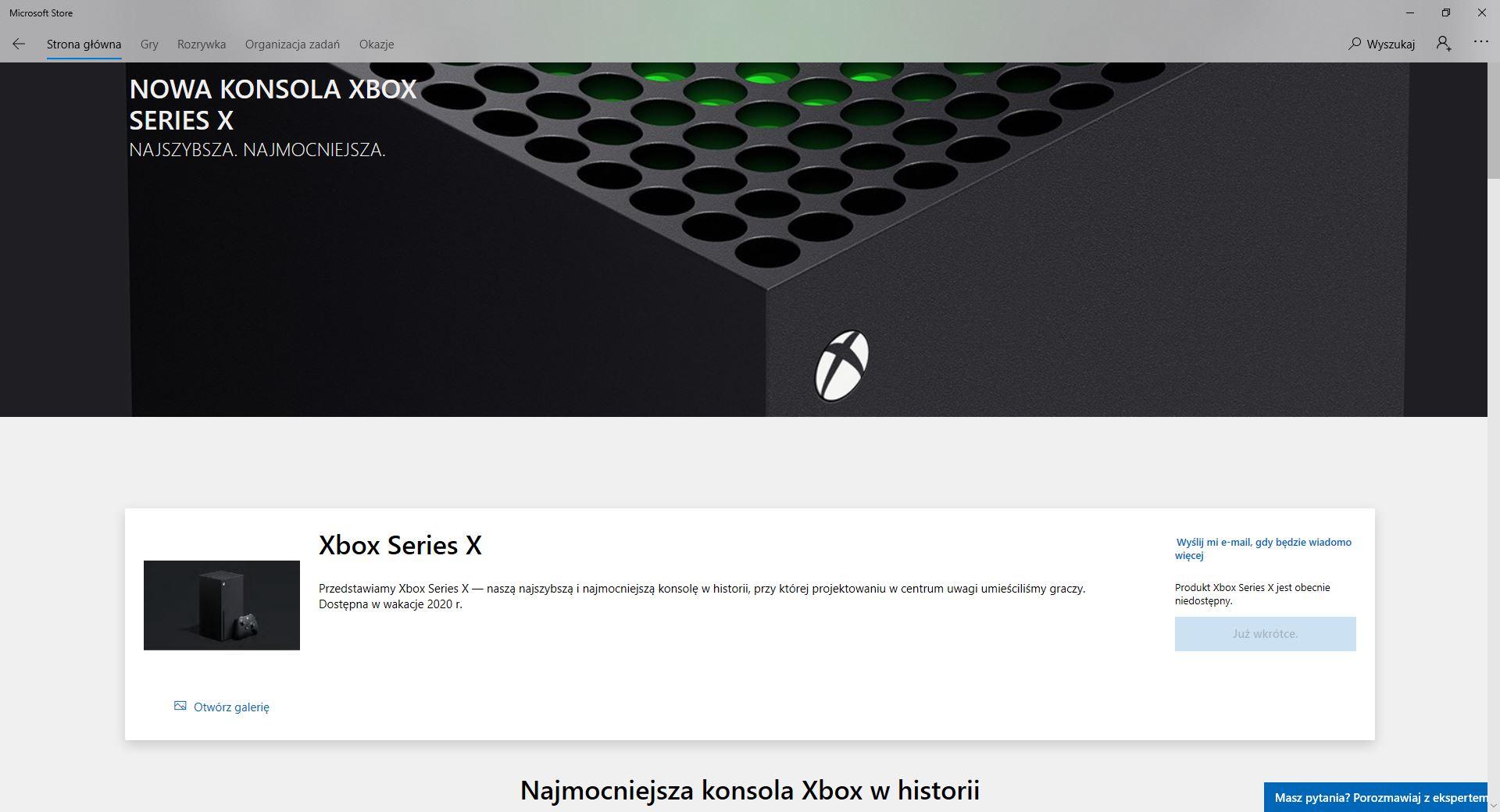 microsoft store xbox series x