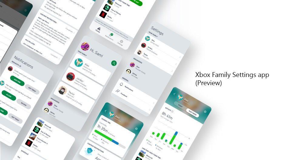 xbox family settings aplikacja