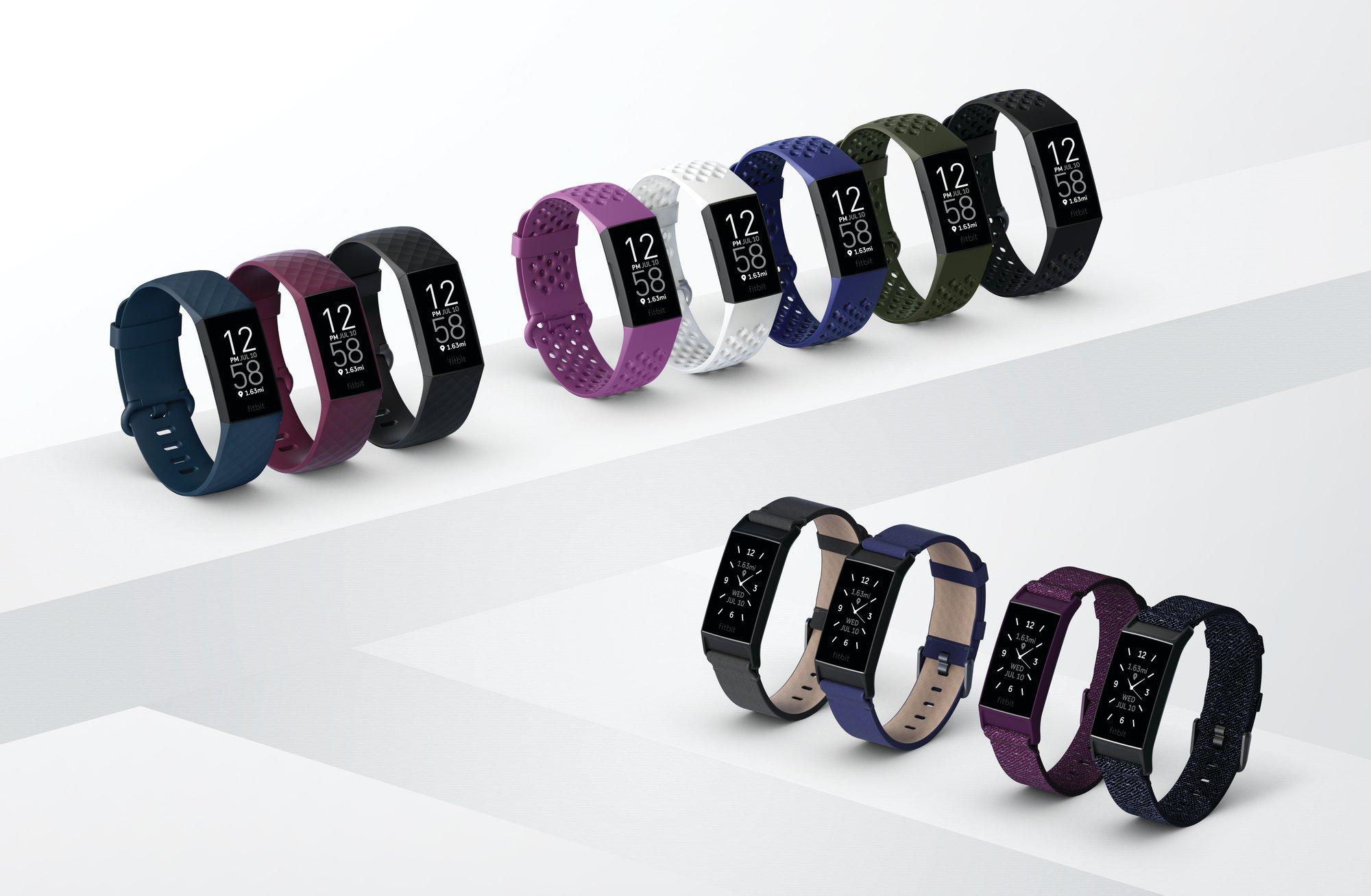 Fitbit Charge wersje kolorystyczne