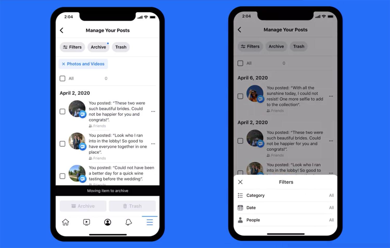 facebook zarzadzanie aktywnoscia