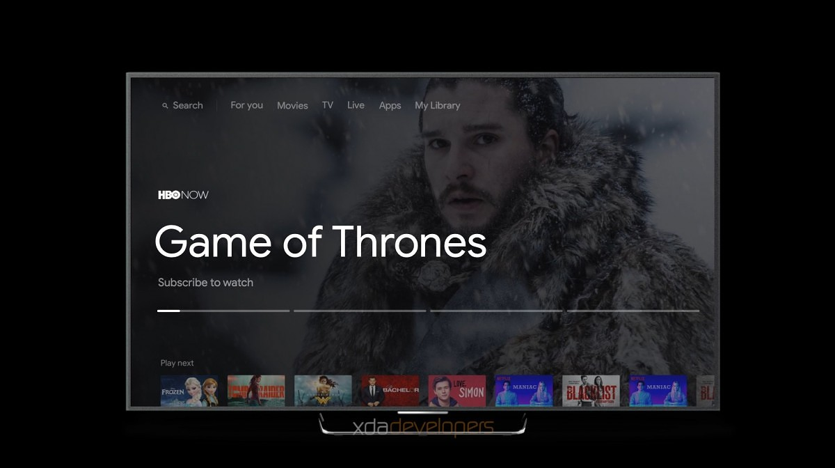 nowy android tv