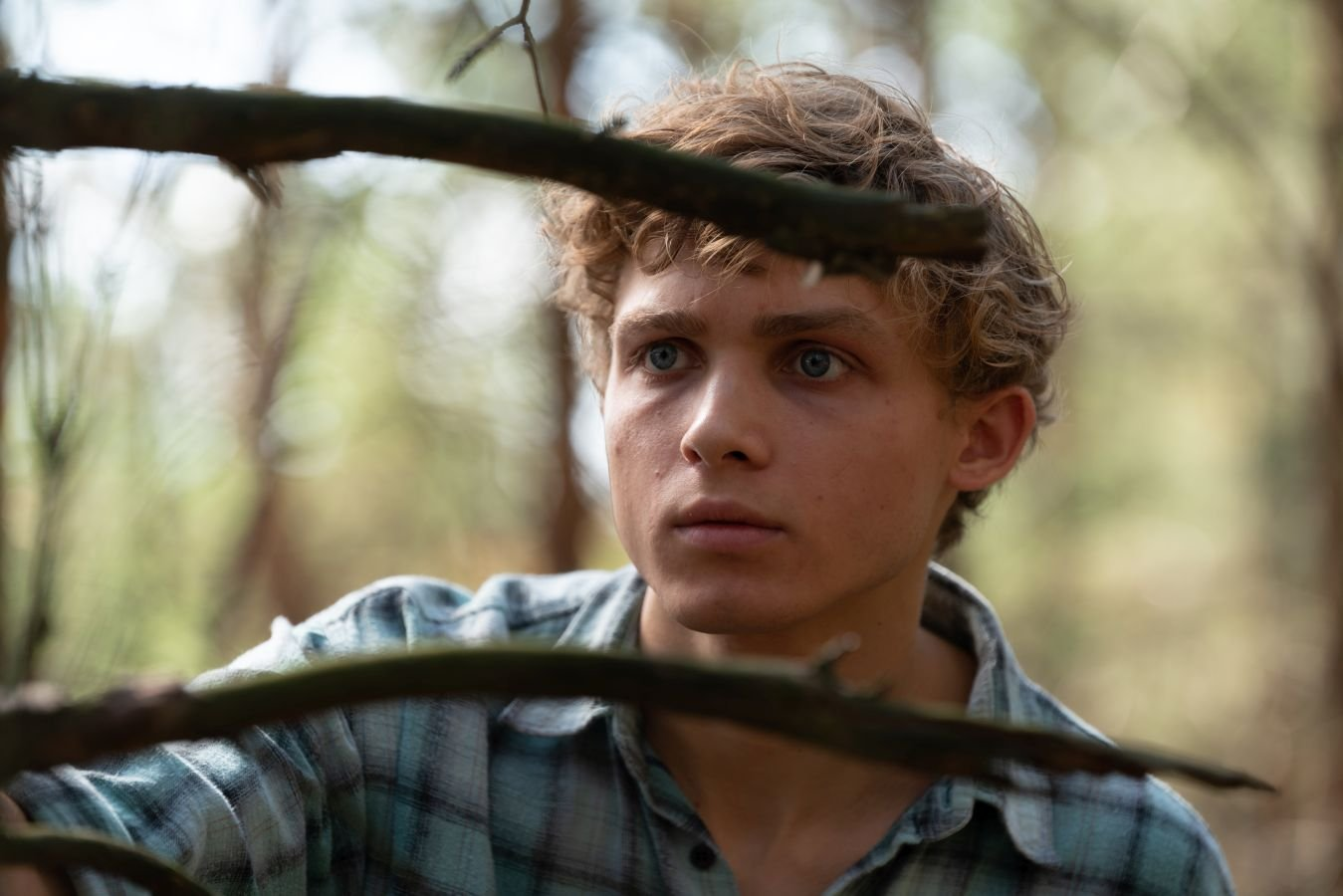 W głębi lasu młody paweł kopiński