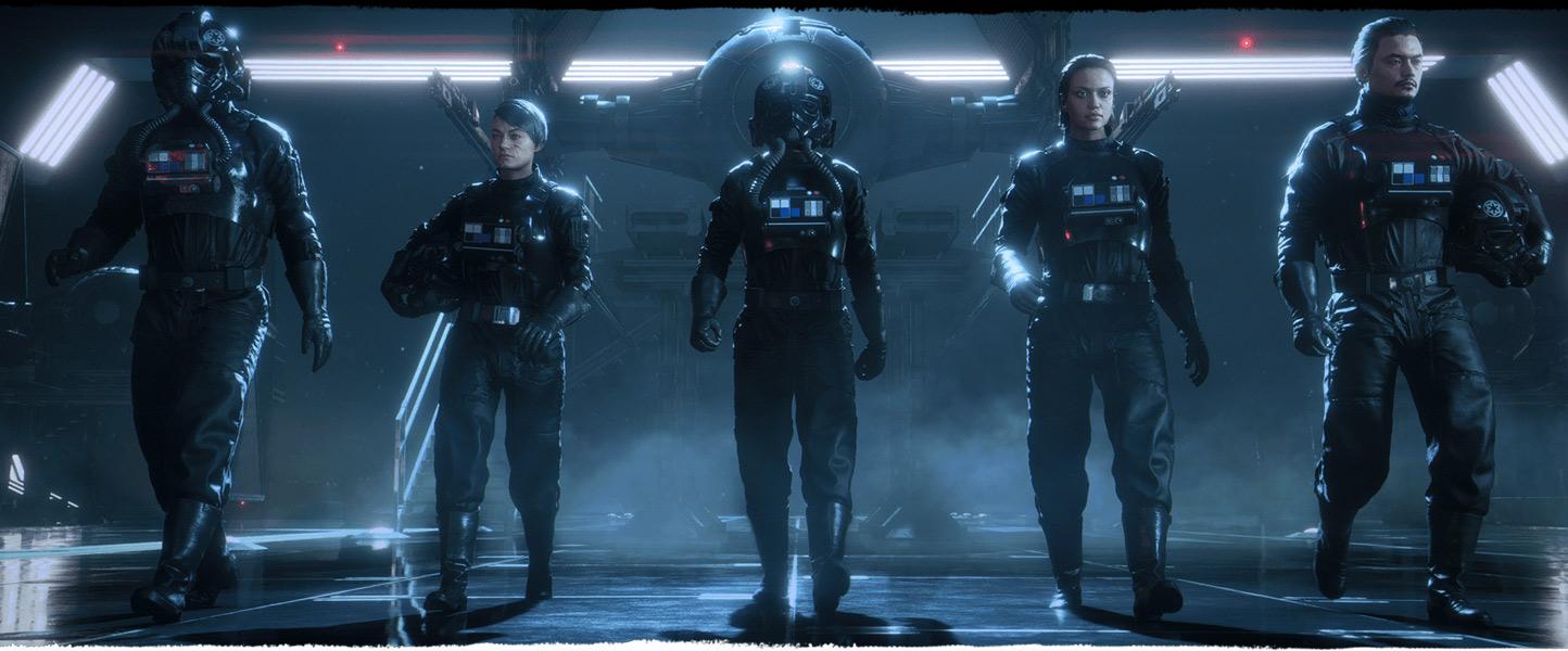 piloci w Star Wars: Squadrons