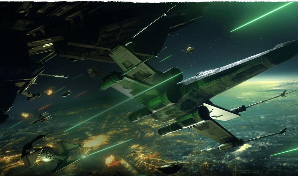 potyczki myśliwców Star Wars: Squadrons
