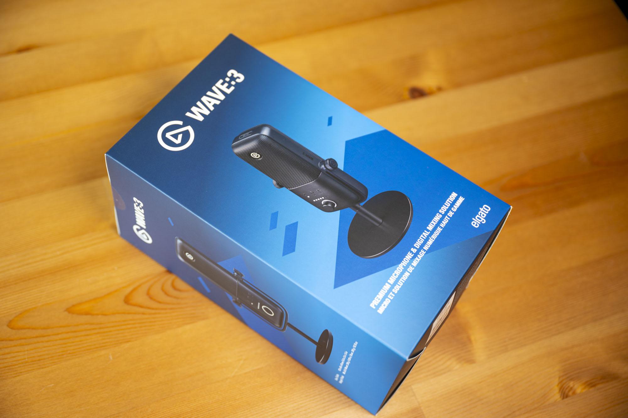 Elgato Wave:3 mikrofon pudełko