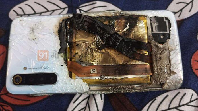 telefon realme wybuchł