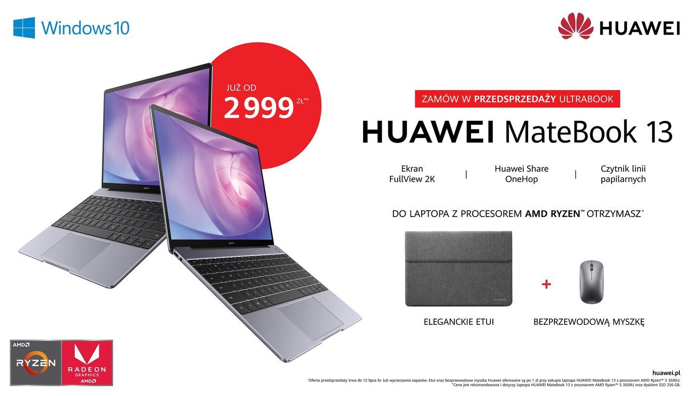 Huawei Matebook 13 AMD Ryzen 3500U