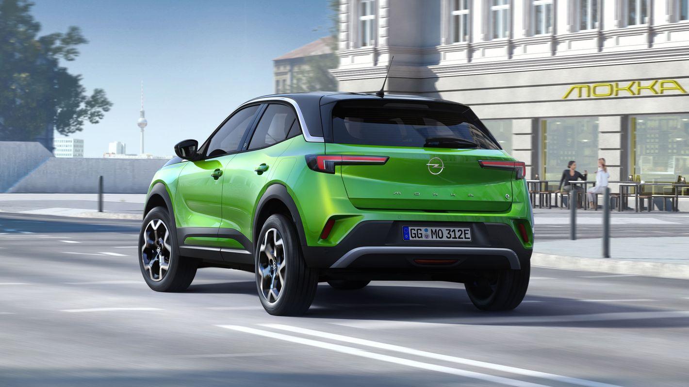 Opel Mokka-e tył