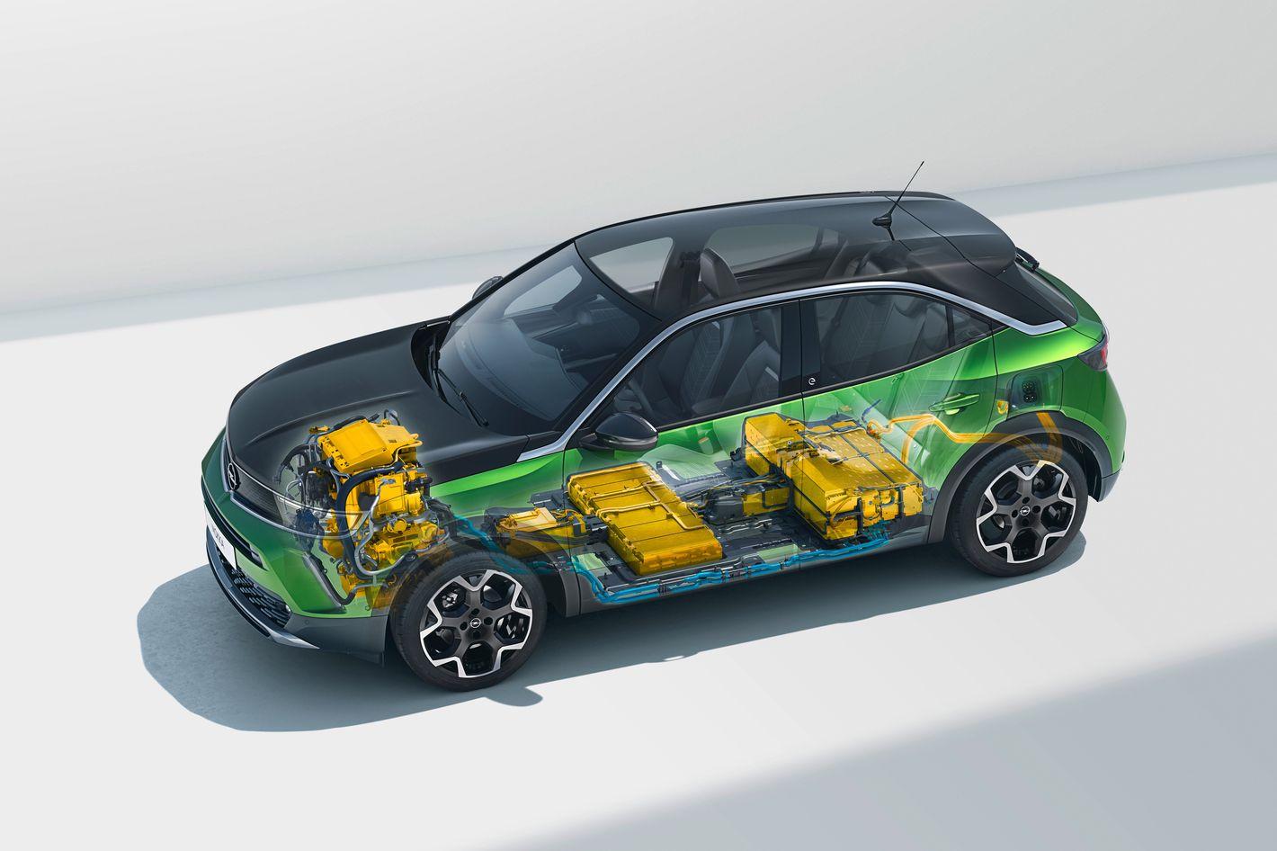 Opel Mokka-e baterie