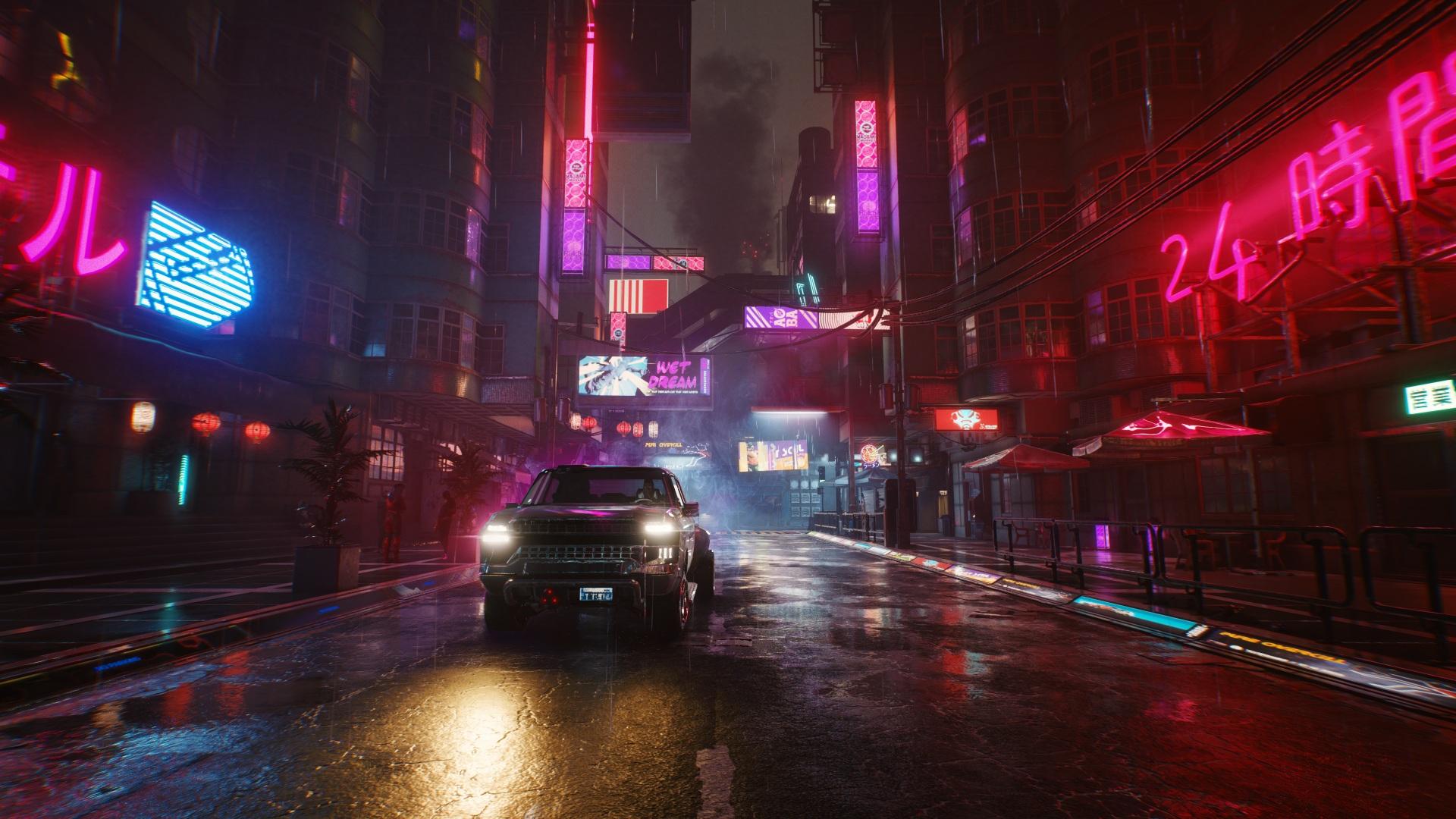 cyberpunk 2077 miasto