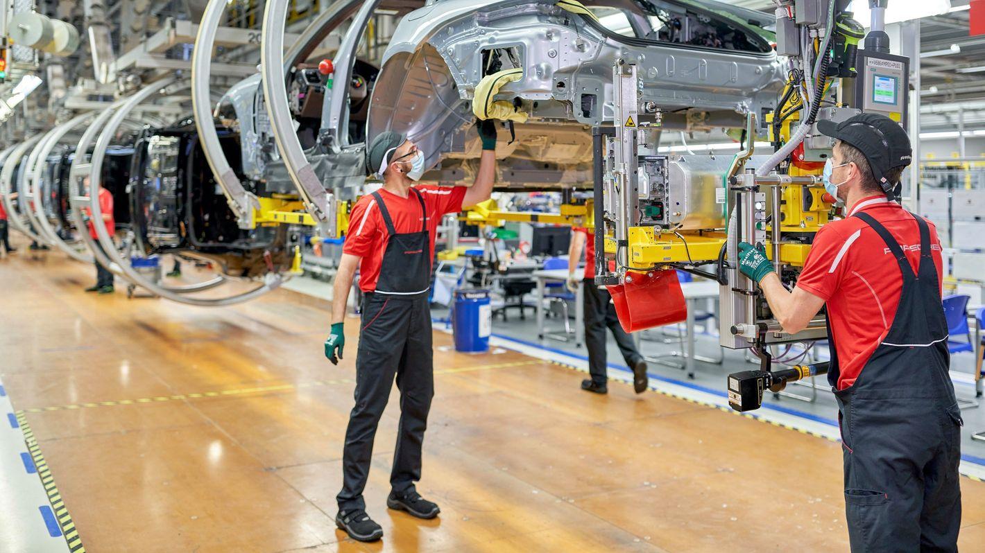 Fabryka Porsche w Lipsku