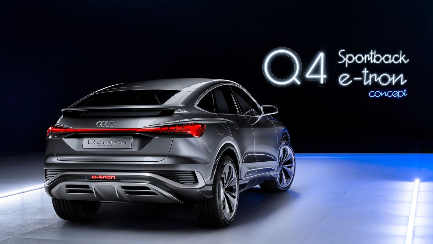 Audi Q4 Sportback e-tron tył