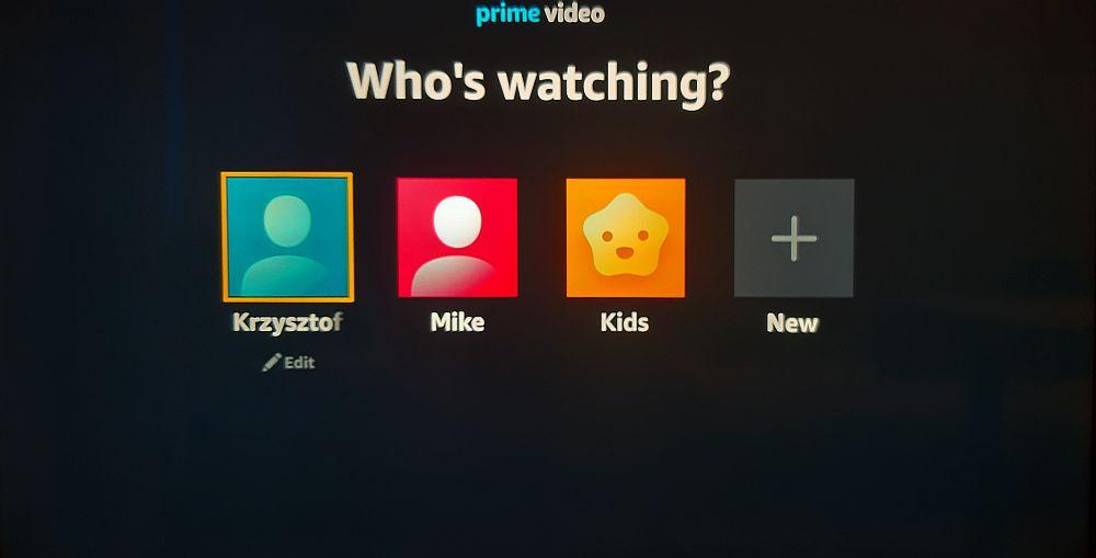 prime video profile