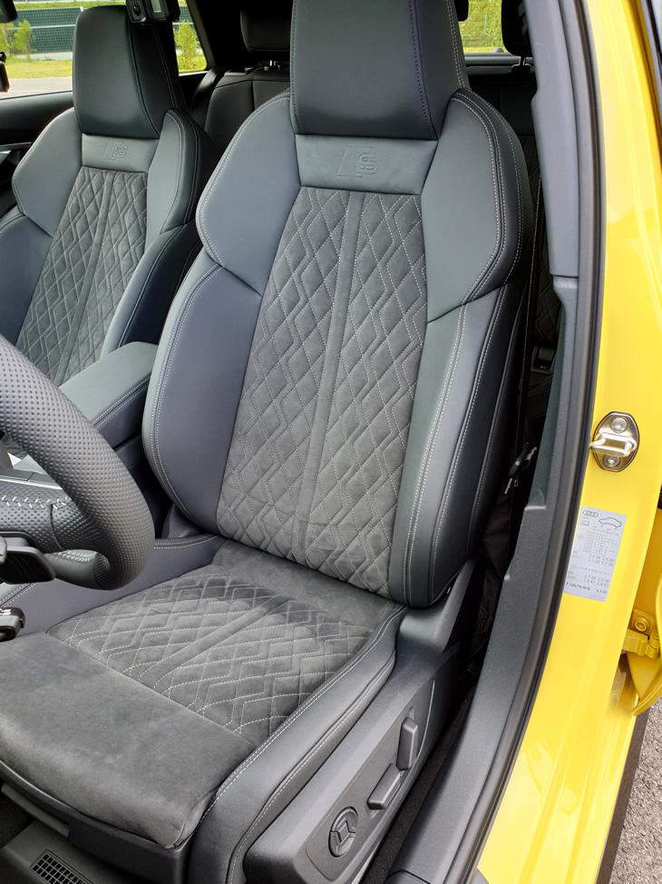 Audi A3 Sportback 2020 - fotel kierowcy