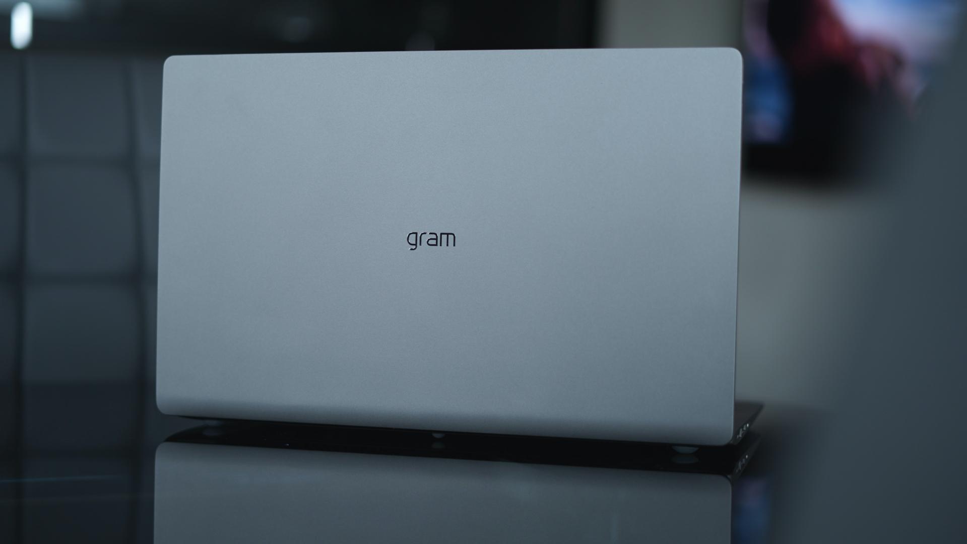 LG Gram 15 2020 tylna klapa