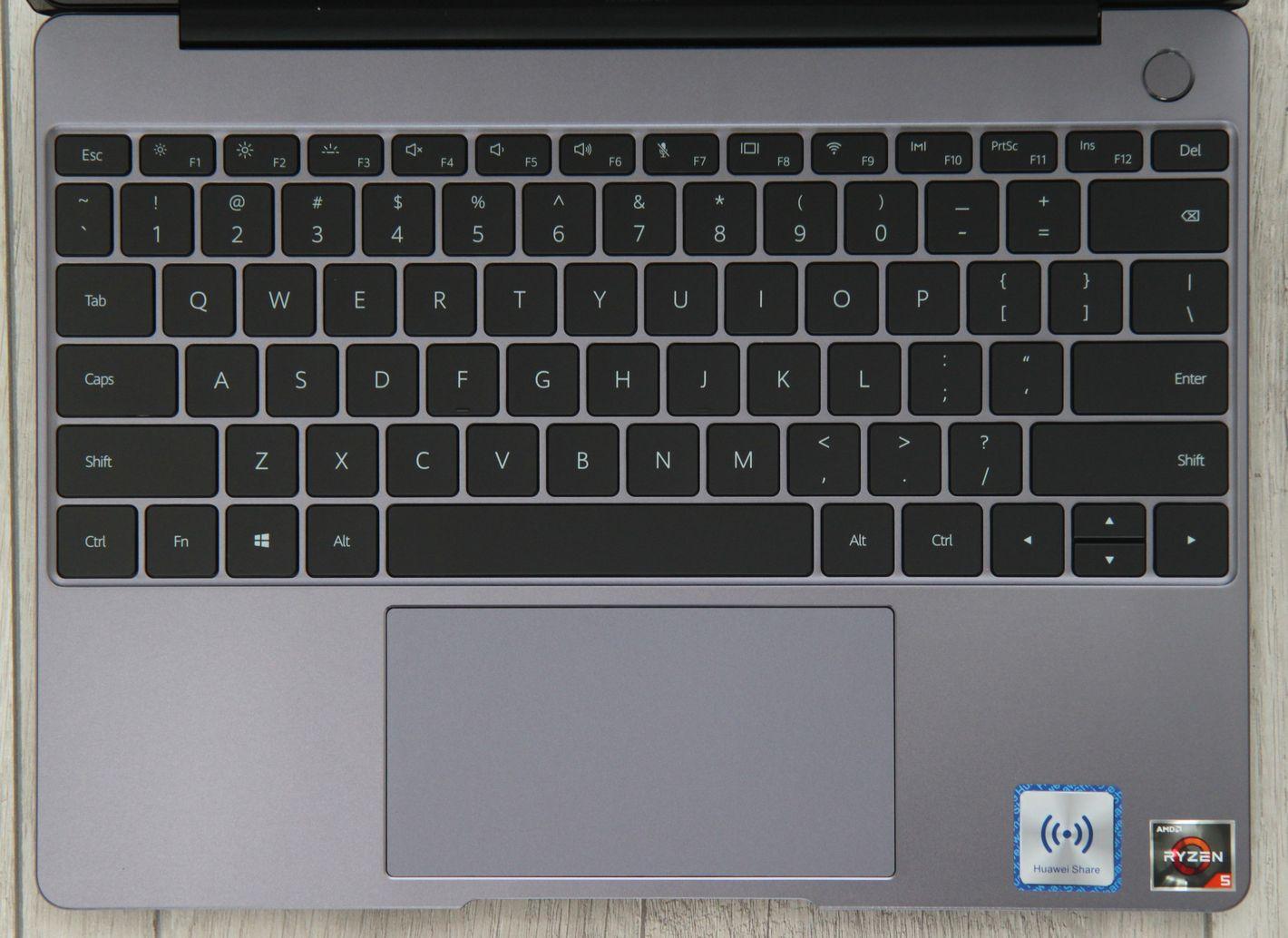 Huawei Matebook 13 klawiatura