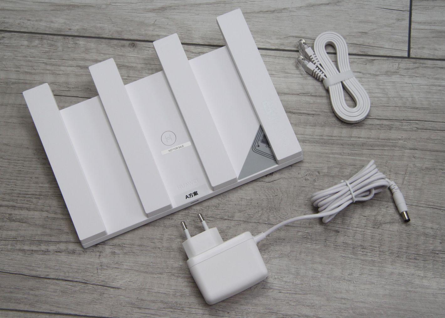 Huawei WiFi AX3 Quad core zawartość opakowania
