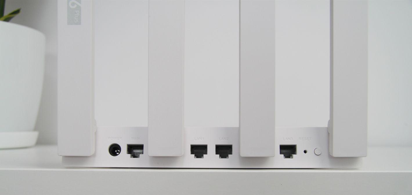 Huawei WiFi AX3 Quad core dostępne porty