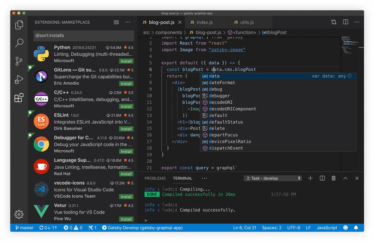 visual code studio na macos