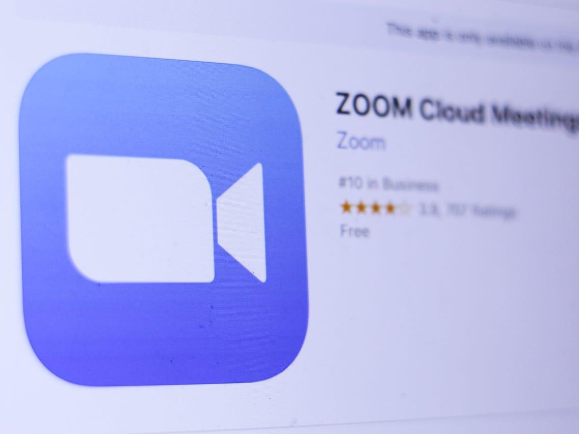 zoom app store