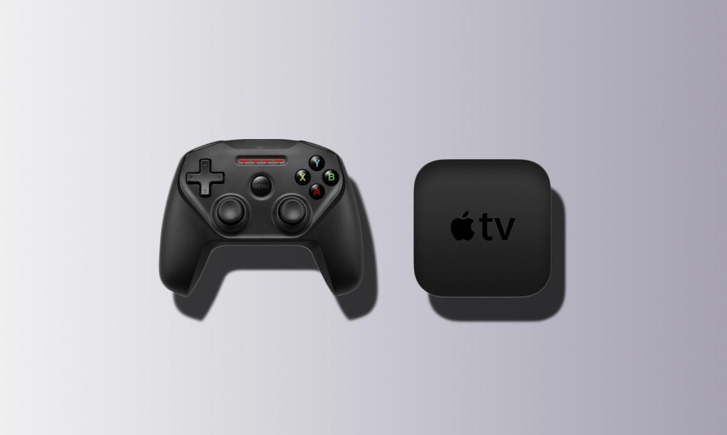 apple tv z padem