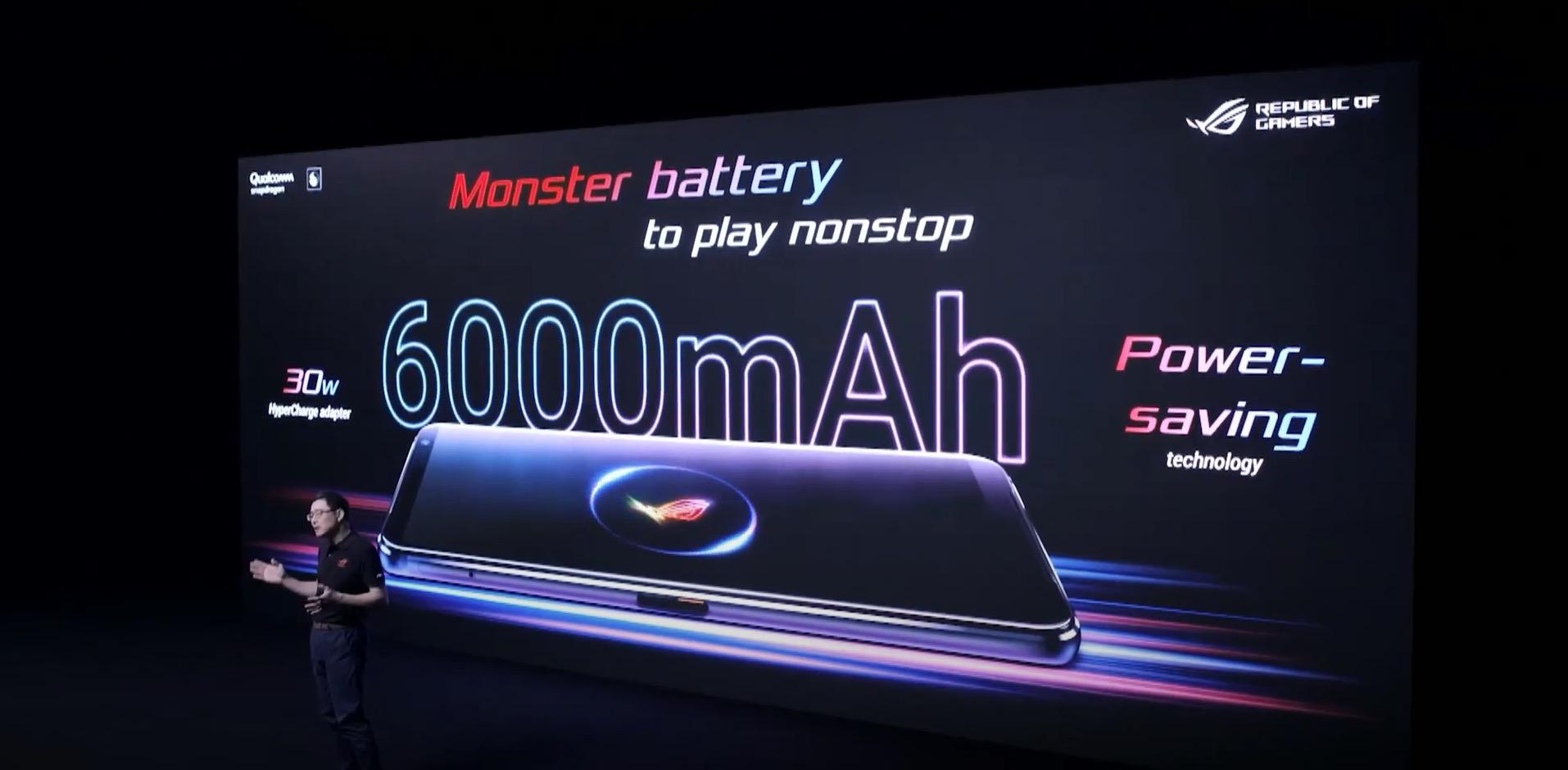 asus rog phone 3 bateria