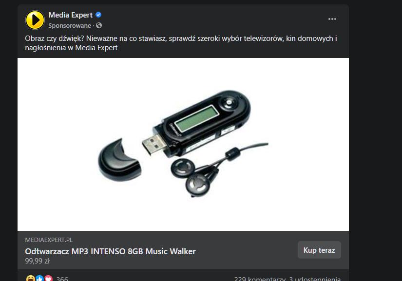 media expert facebook mp3
