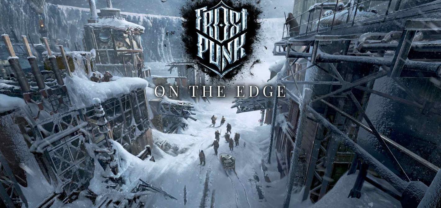 frostpunk on the edge zwiastun