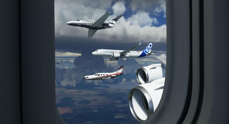 Microsoft Flight Simulator multiplayer