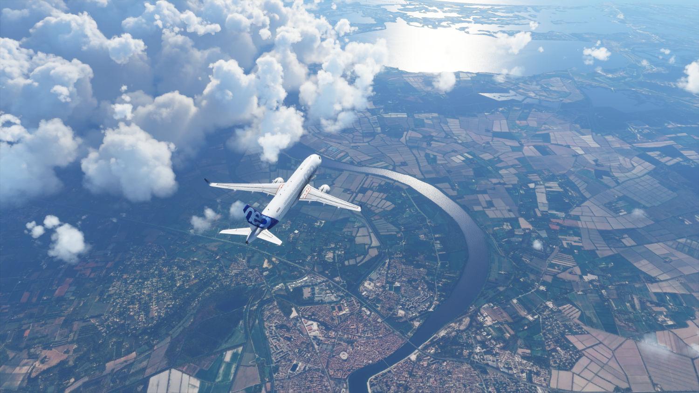 Microsoft Flight Simulator warunki pogodowe zmieniają się