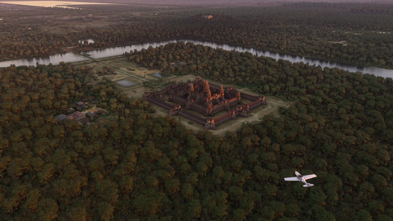 Microsoft Flight Simulator realistyczne mapy