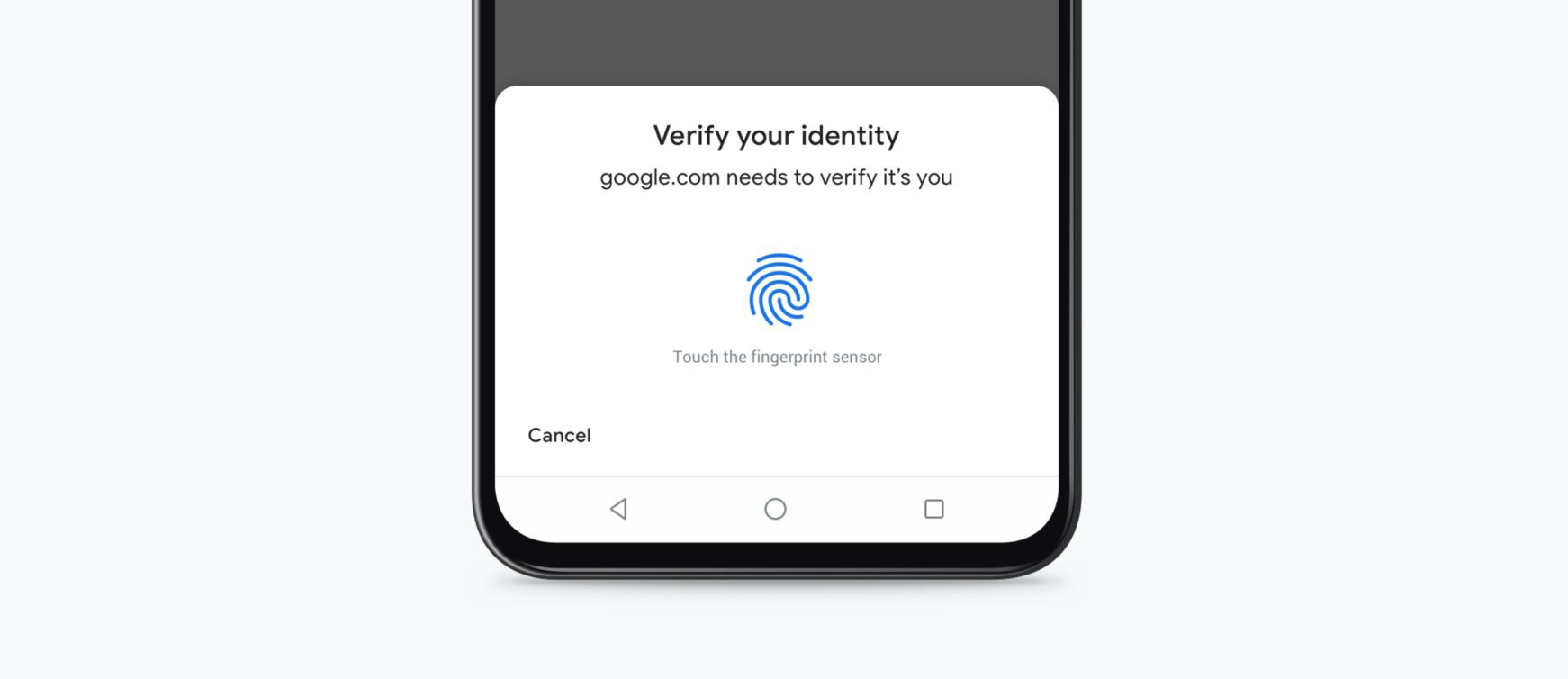 Chrome potwierdzenie karty