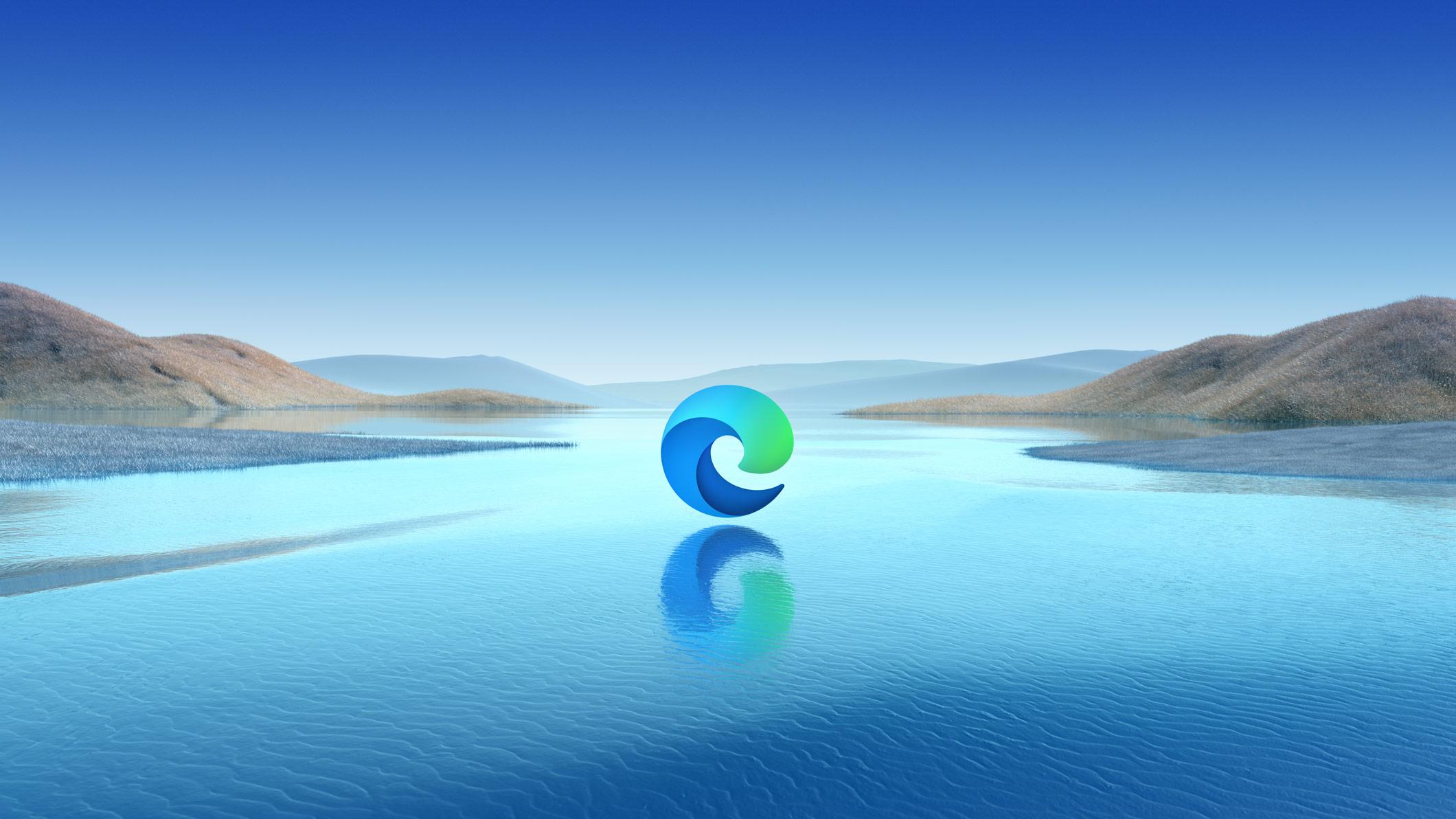 Microsoft Edge - nowe logo, Windows 10