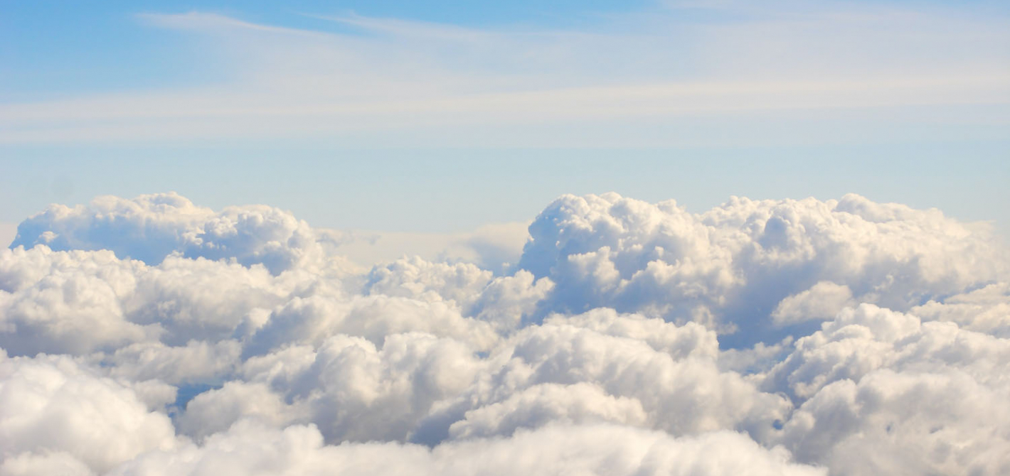 chmury niebo