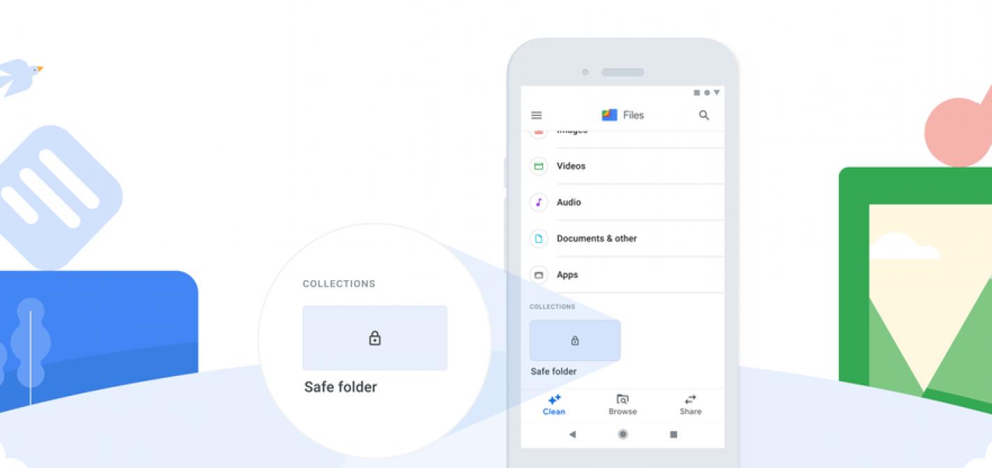 bezpieczny folder pliki google