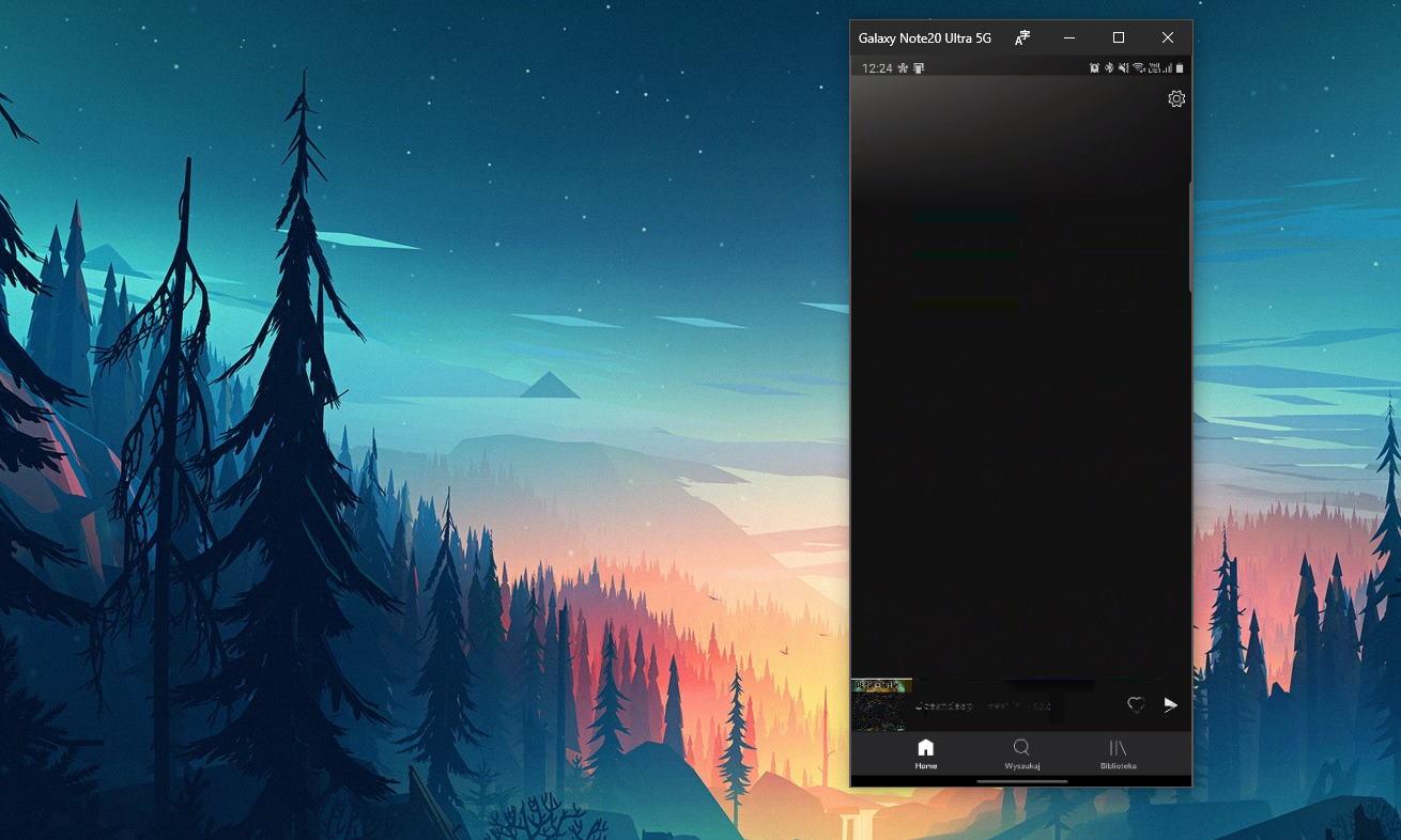 aplikacje z telefonu na komputerze windows twój telefon galaxy note 20