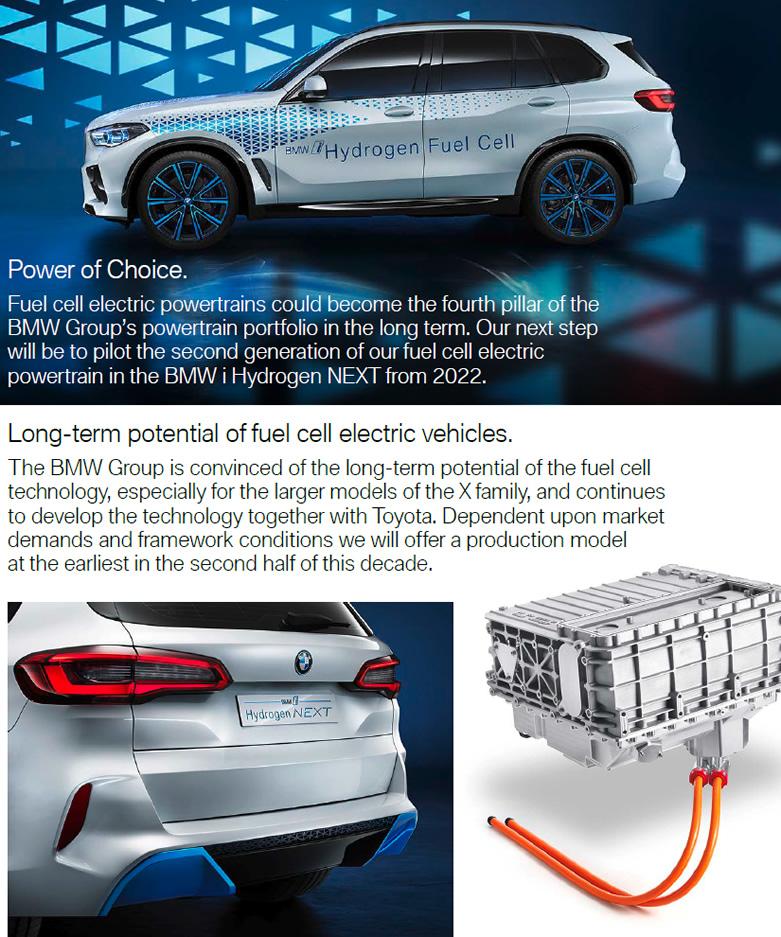 BMW z napędem na wodór
