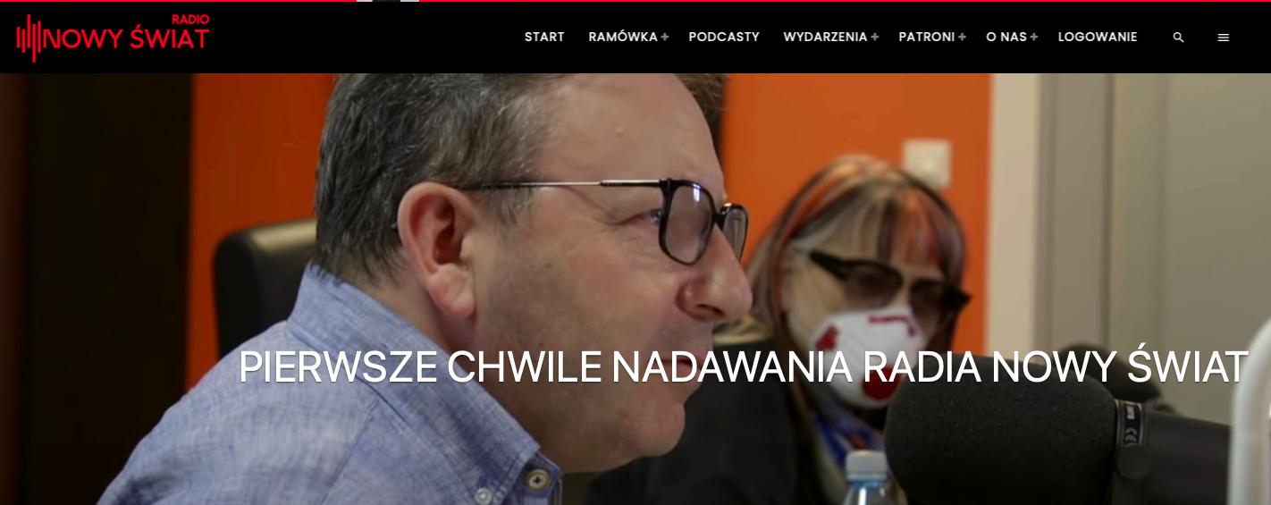 Radio Nowy Świat - historia powstania